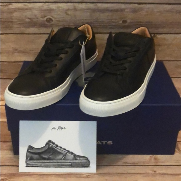 aa5a577d533 Greats Brand Royale Black New in box Mens Shoes 10